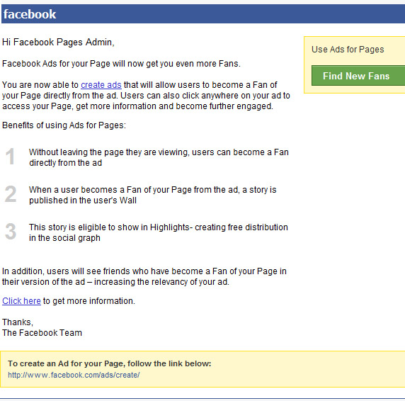 facebook-ads-for-pages-email