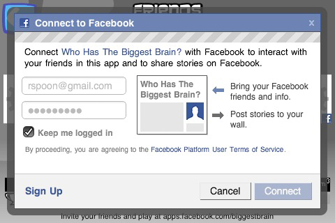 facebook-connect-mobile-integration