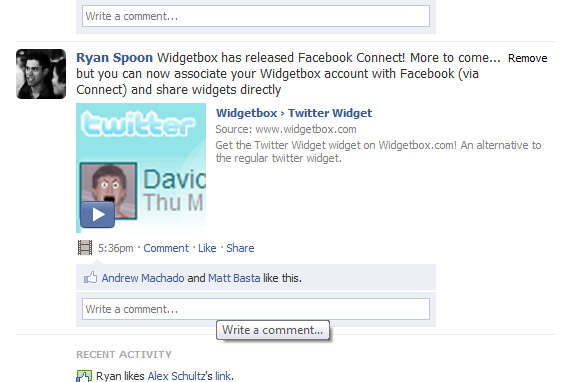 facebook-connect-widget-in-the-feed