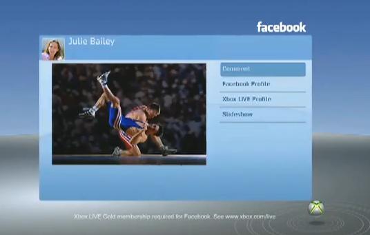 facebook xbox live