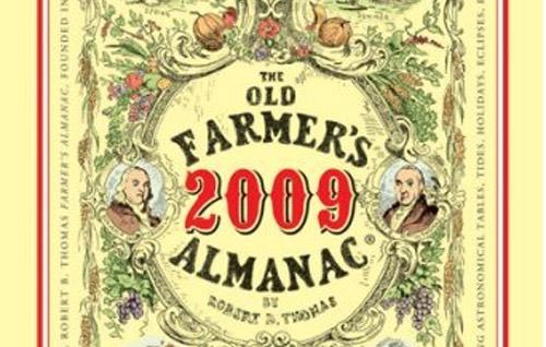 2009 farmers almanac