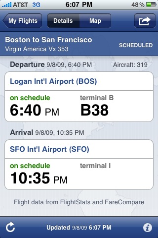 flight-track pro iphone app