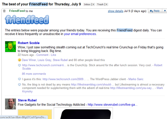friendfeed-realtime-web