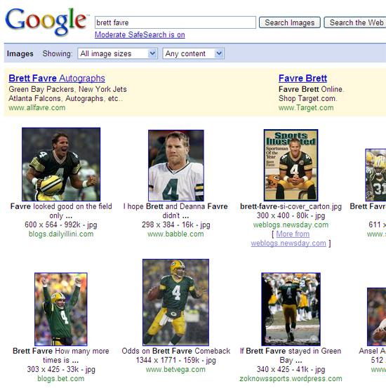 Google Images AdWords AdSense