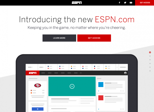 introducing espn