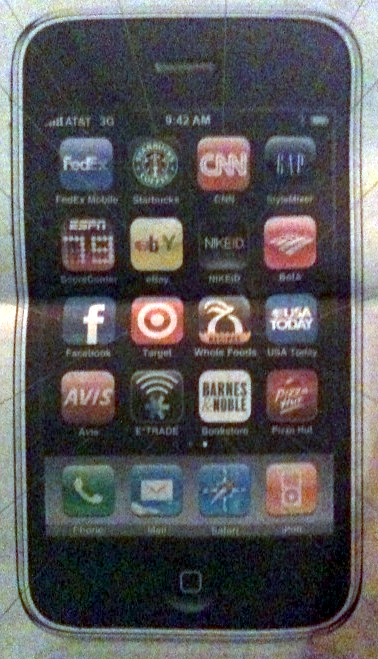 iphone apps new york times ad