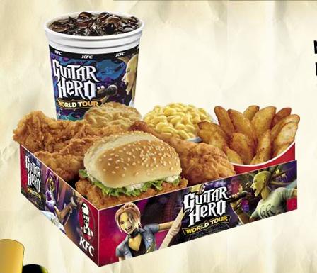 KFC Guitar Hero 4