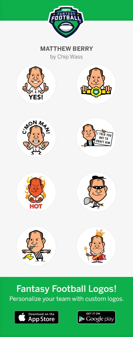 matt berry sticker pack