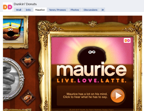 meet maurice on facebook