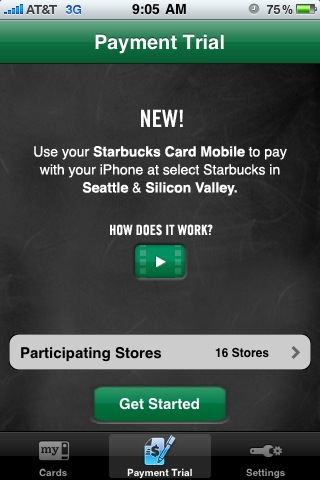 Starbucks App Mobile Payments