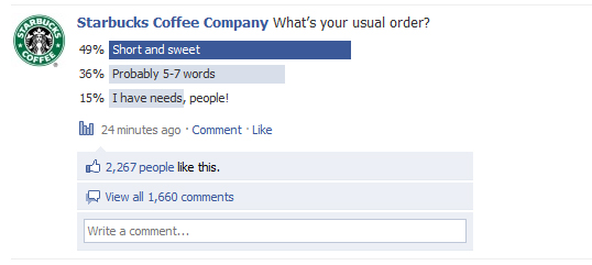 starbucks-facebook-poll