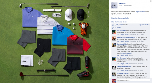 tiger woods nike gear