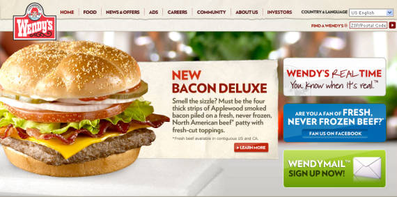wendys bacon deluxe