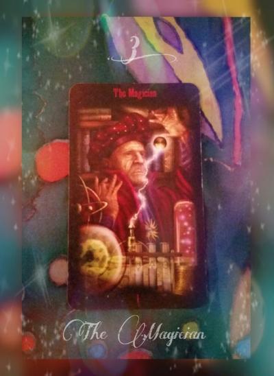 The Magician ~ Free Tarot Card Reading by Holly Charles ~ Web: www.hollysholistichealing.co.uk FB: Holly's Holistic Healing Twitter / IG: @holistic_holly Etsy: HolisticMysticHolly