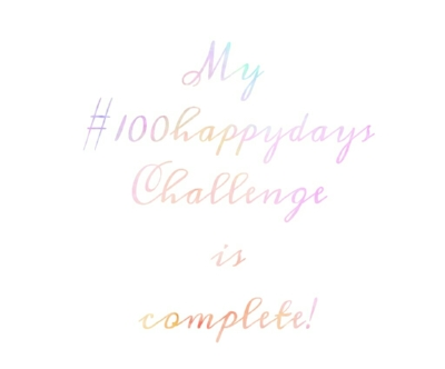 The Journey of my 100 Happy Days Challenge ~ www.hollysholistichealing.co.uk