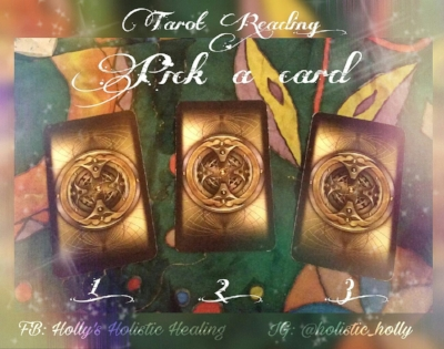 Free Tarot Reading ~ Holly's Holistic Healing Blog ~ Facebook: Holly's Holistic Healing, Twitter & Instagram: @holistic_holly, Etsy: HolisticMysticHolly