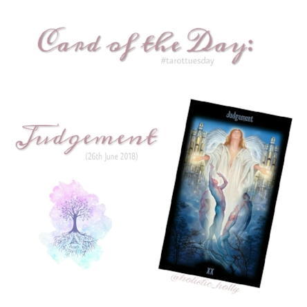 Card of the Day - Judgement - 444