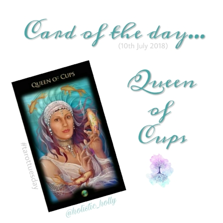 Card of the day - Queen of Cups