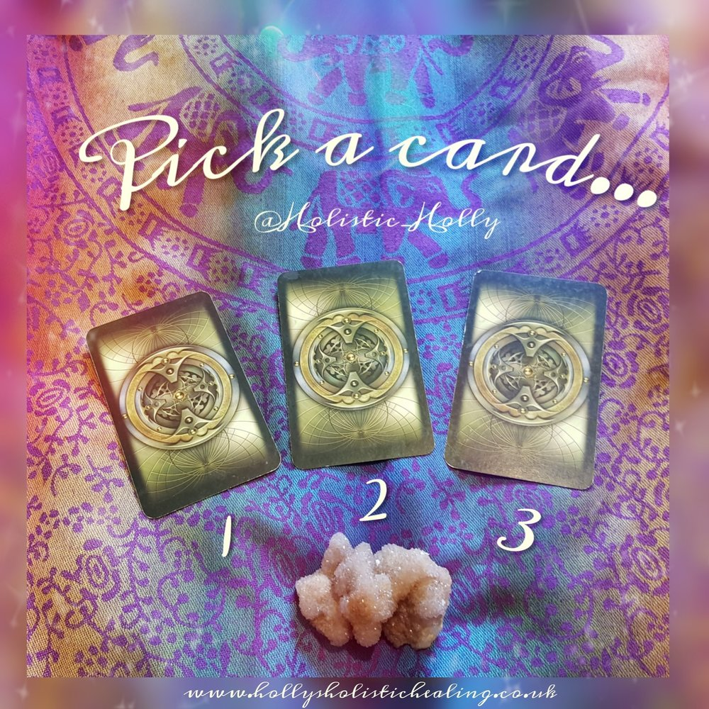 Hello Friends… - I'm sure you know by now how these readings work - you allow your intuition to guide you to the card you need…Close your eyes…Take a long, slow, deep breath in & out.Connect with your heart centre & ask to be guided to the card that you need the most…When you have decided on a card, look below to find out what that card means for you at this moment in time!If you find this helpful please share it with your friends, and subscribe to my mailing list to get them sent straight to your inbox!(You also get a wonderful Guided Meditation/Visualisation sent to you for FREE for signing up, which is designed to help you with Grounding, Centering, Clearing & Energetic Protection!)So here we go…