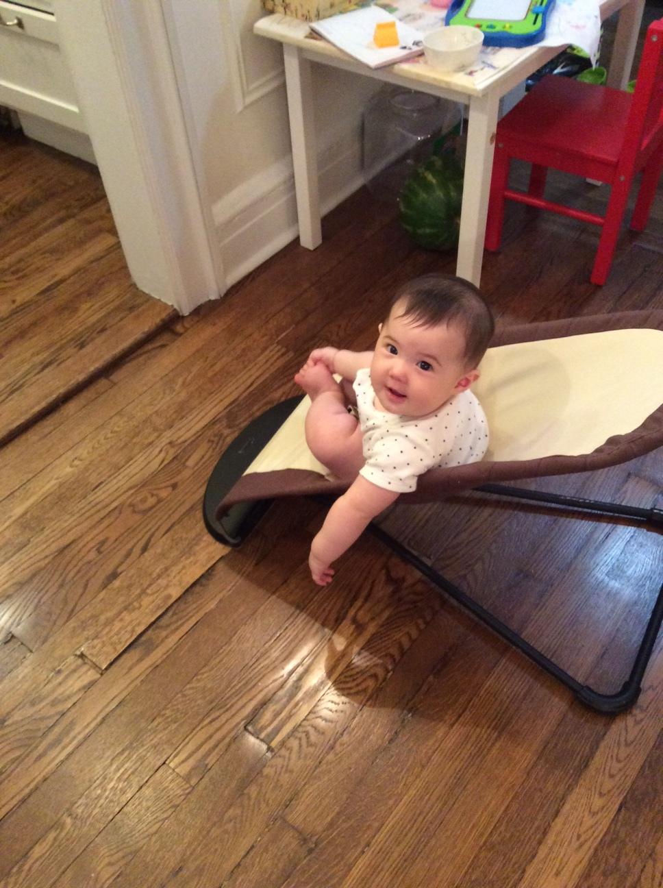 former Formosa cellist Ru-Pei's baby, Ella