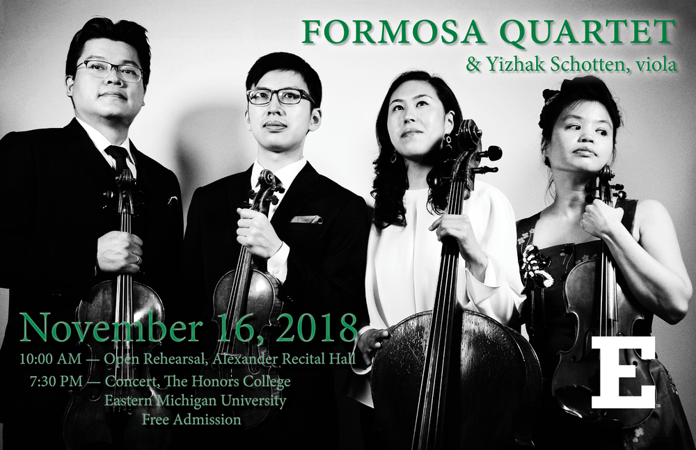 Formosa Quartet & Yizhak Schotten at EMU (November 16, 2018).png