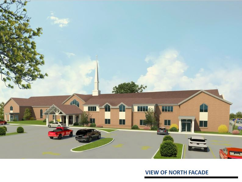 View of North Facade - Facility Master Plan.JPG