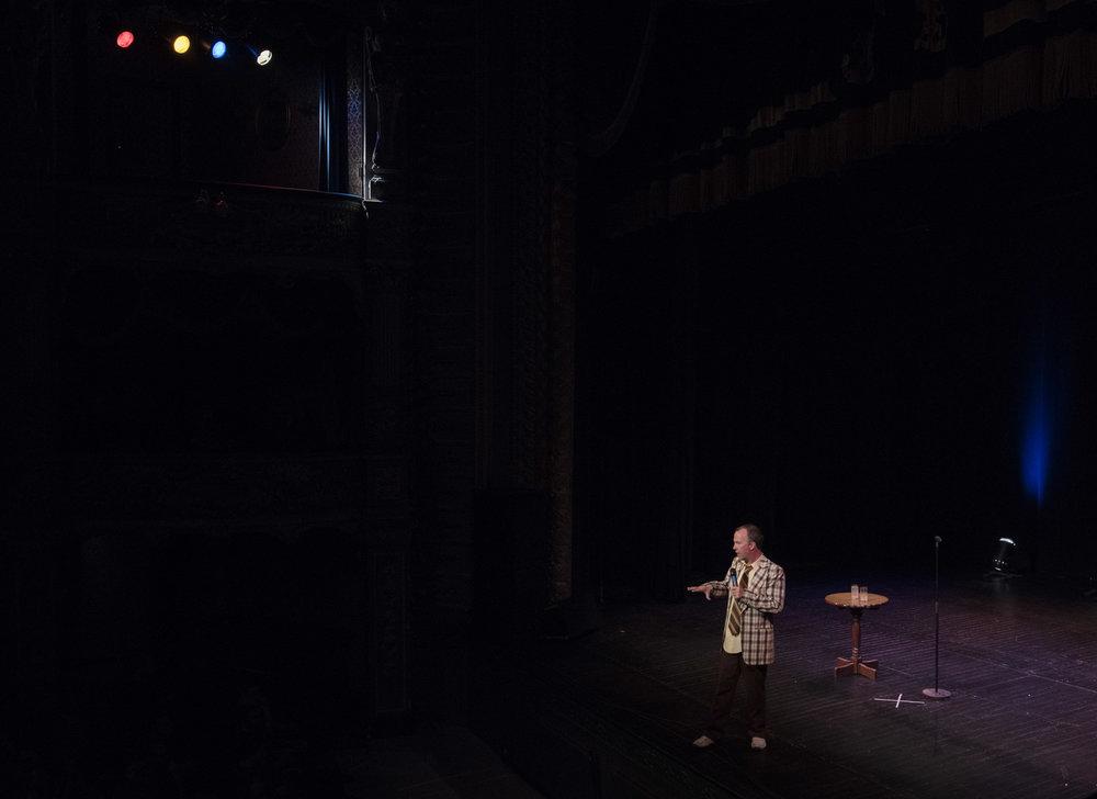 Doug on stage