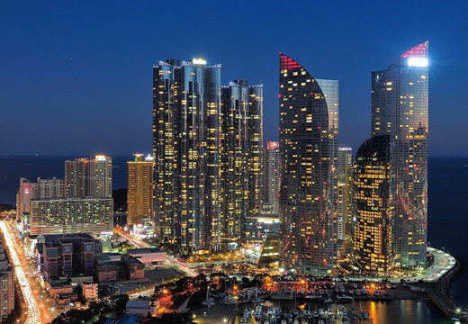 WE'VE THE ZENITH . 936 units . Busan, Korea