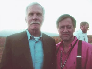 Ted Turner and Chris Palmer