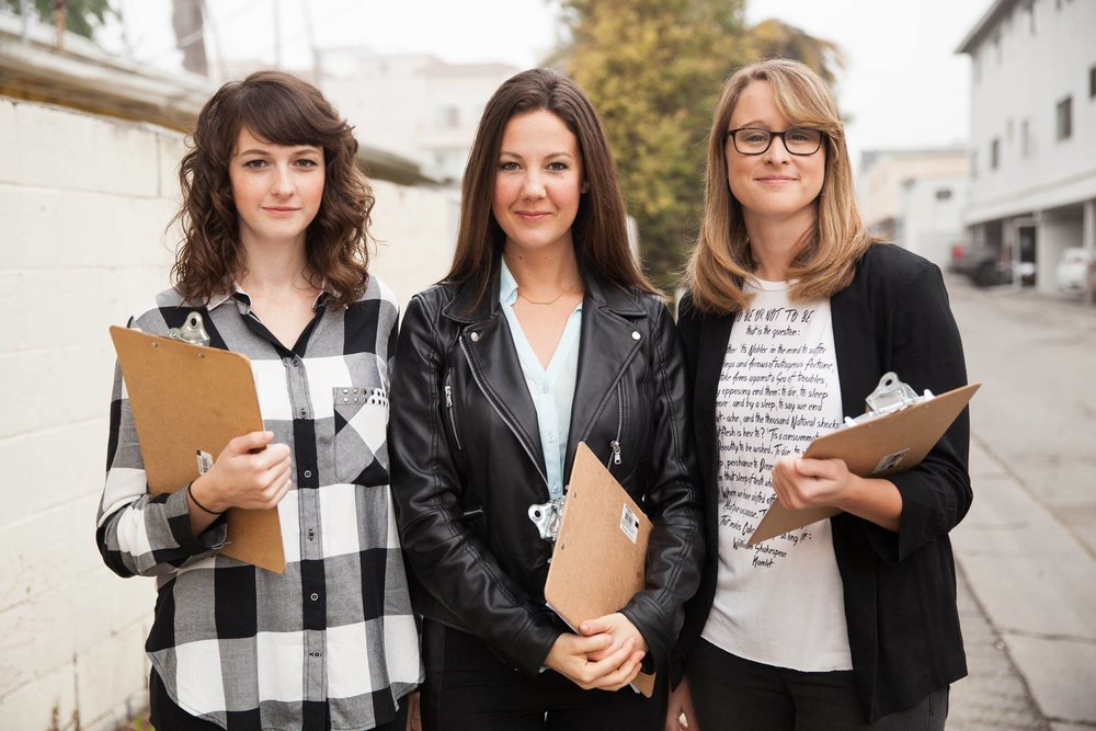 Boss Ladies Pictured:Morgan Owens @himorganowens (Co-Writer, Producer, Lead Actress). Sarah Heinss @sarahheinss (Director, Producer, Co-Writer, Editor, Actress). Maggie Hart @hart4film (Producer).