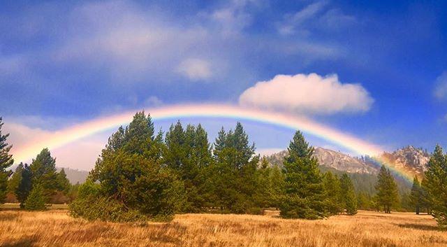 Waiting out the storm. South Lake Tahoe California. #rainbow#naturallight#LakeTahoe##mountainlife#photographer# fresh air #naturallightphototographer