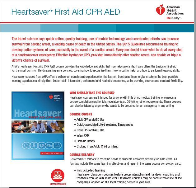 Cpraed First Aid Class Xima Health Zenter
