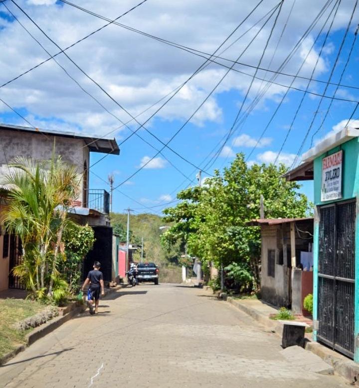 Street view from La Villa 23 de Julio, León, Nicaragua