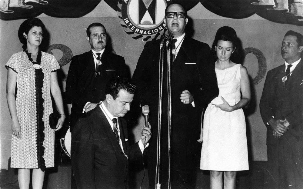Anastasio Somoza Debayle in 1967.     Photo courtesy Erin Sabato