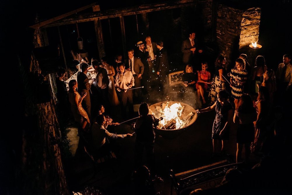 late night fire pit
