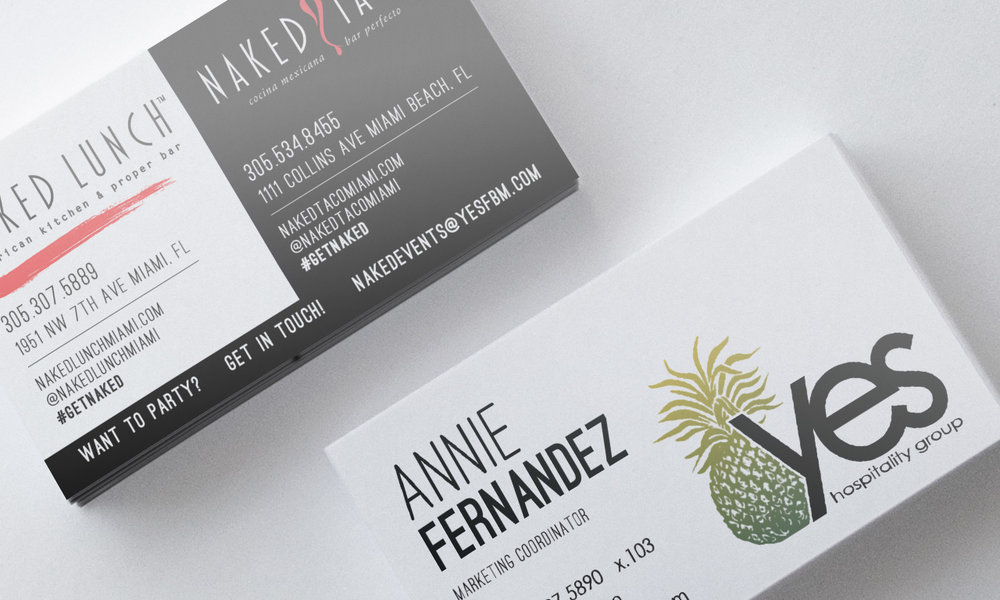 Business Cards for \