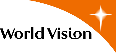 World Vision logo.