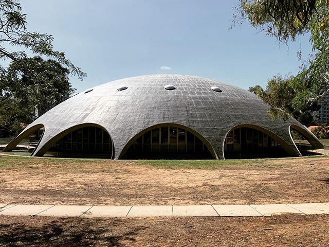 #roygrounds #shinedome #1958 #beckerbuilding #sulmanaward  #concretedome #copper