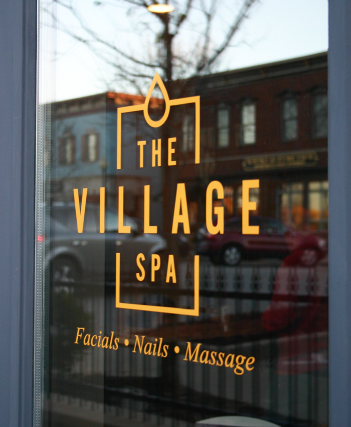 The Village Spa /  Branding + Website