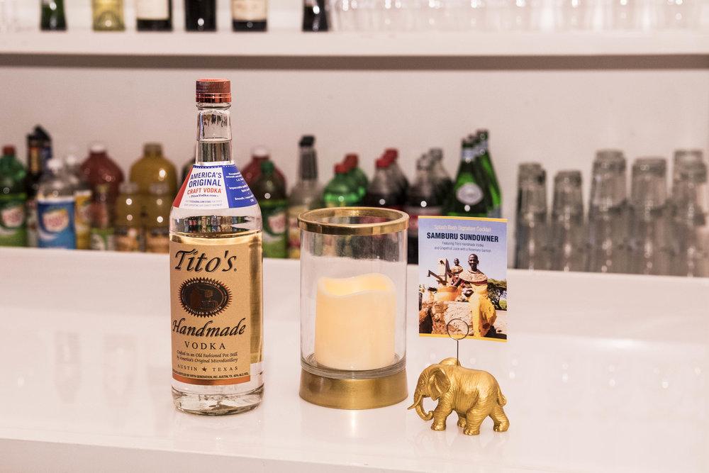 Splash Bash Gala Event for Africa, Tito's Vodka