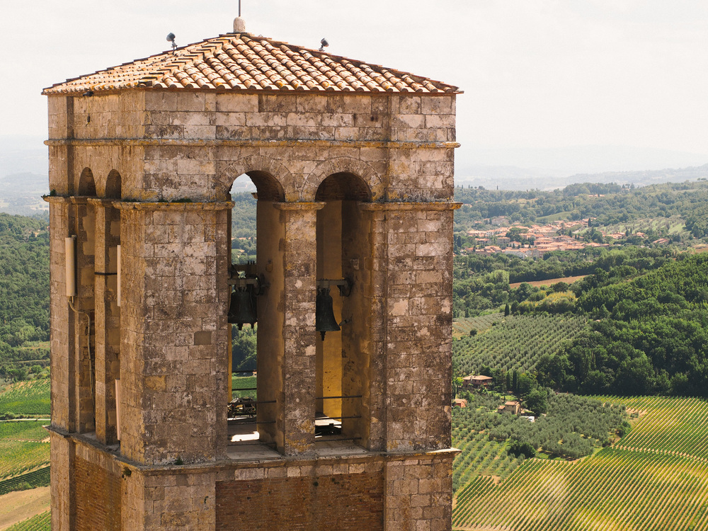 During this time, we only made one trip outside of our temporary home, and visited Montepulciano and Pienza