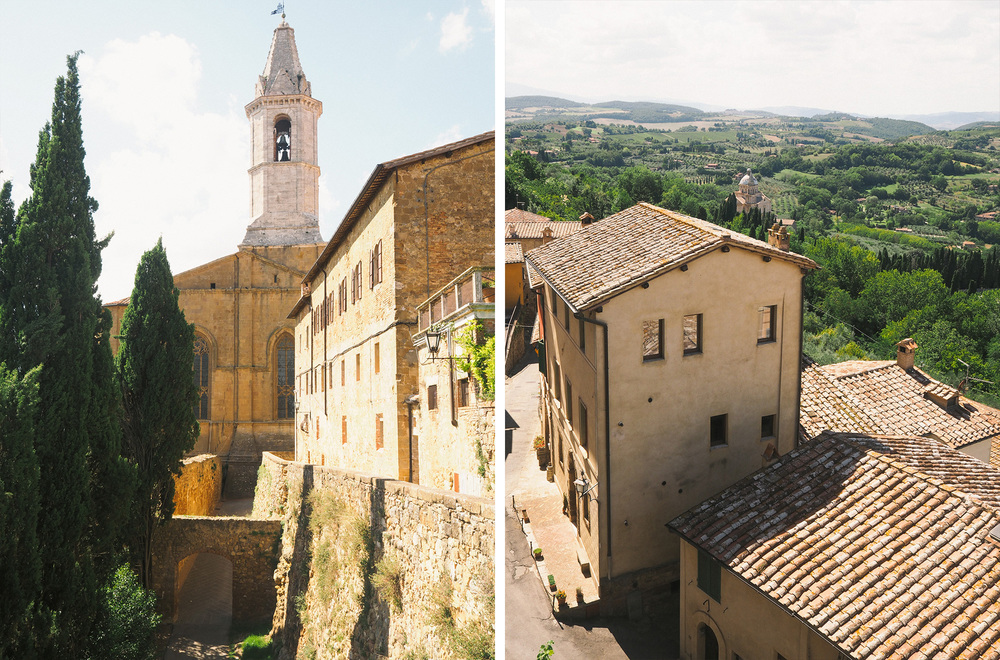 We then drove to Pienza and spent an afternoon there. In about 30 minutes you can walk around the entire town. It's hard to believe people actually live there.
