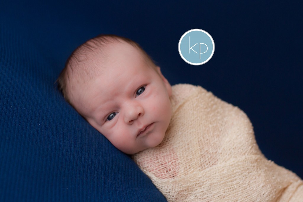 Grand Blanc Michigan newborn photographer, baby, boy, blue, wrapped, newborn,