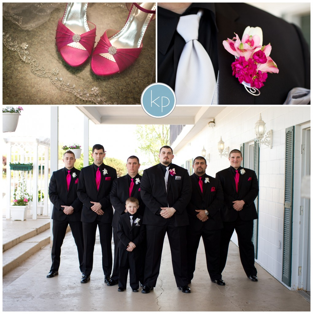 groom, line up, shoes and veil, flower, grooms flower, details