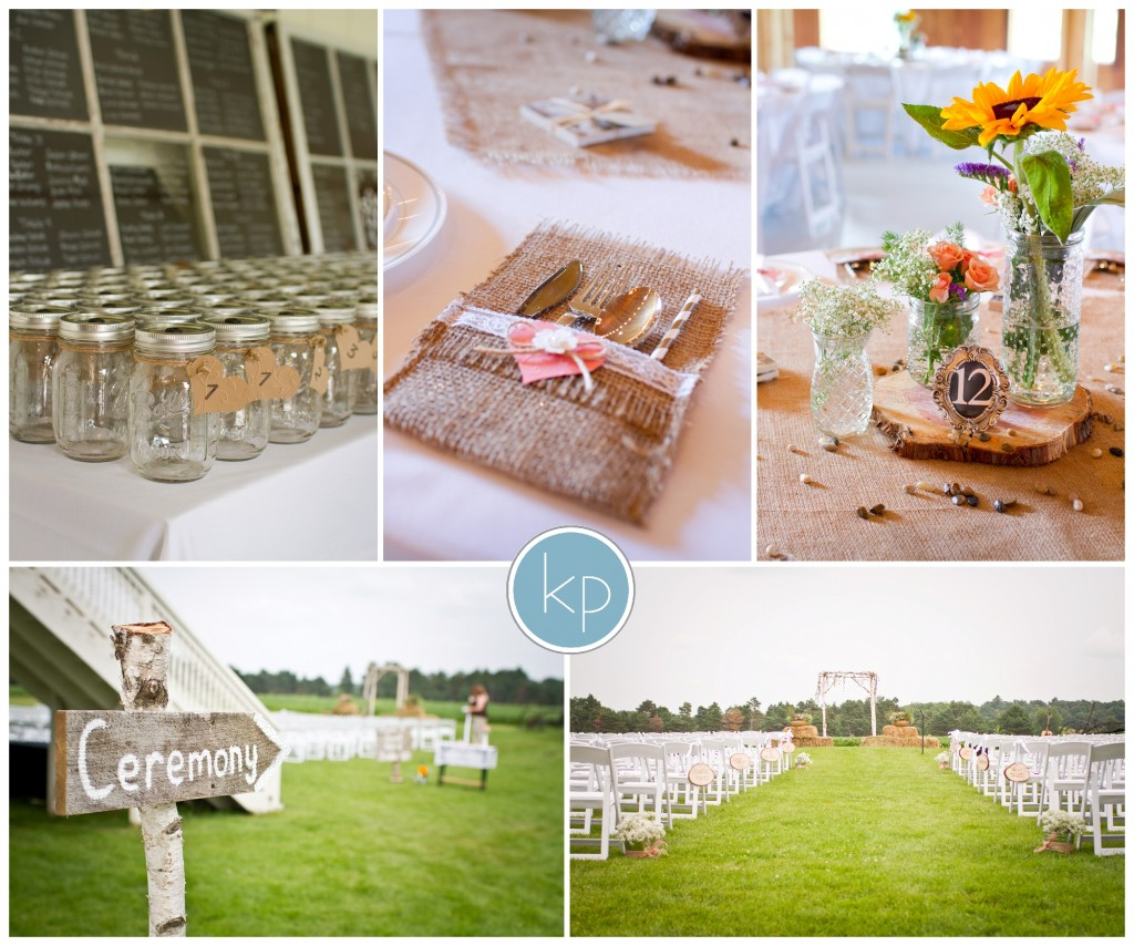 wedding details, mason jars for cups, centerpieces for wedding tables, wedding ceremony site