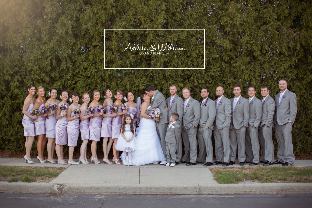 Adelita & Will's Wedding in Grand Blanc Michigan