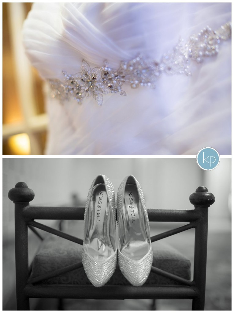 dress and shoe details