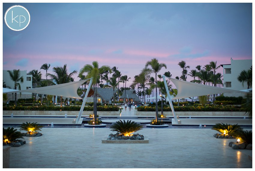 the royalton resort, sunset at the royalton