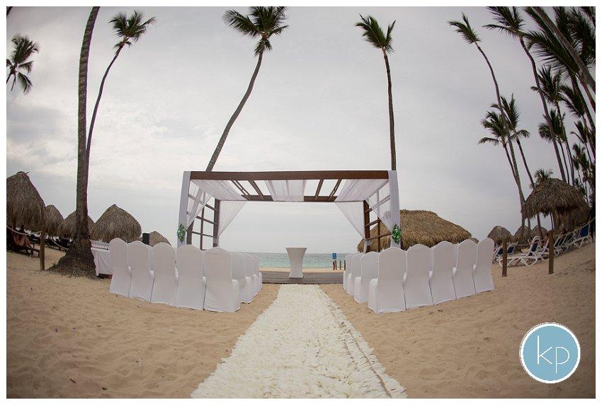 ceremony site, punta cana ceremony site