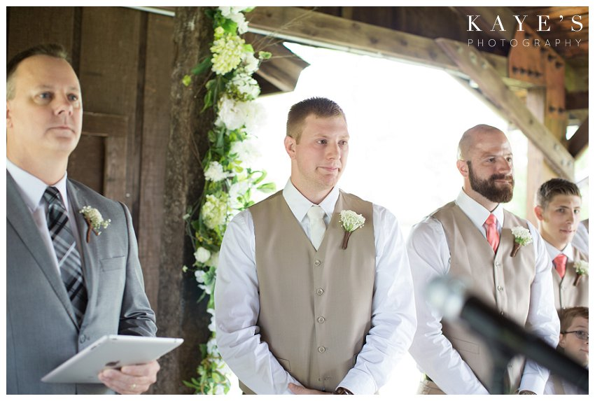 groom about to cry